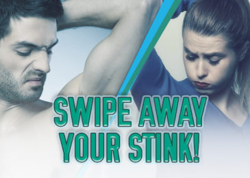 Swipe away the stink with all-natural deodorant