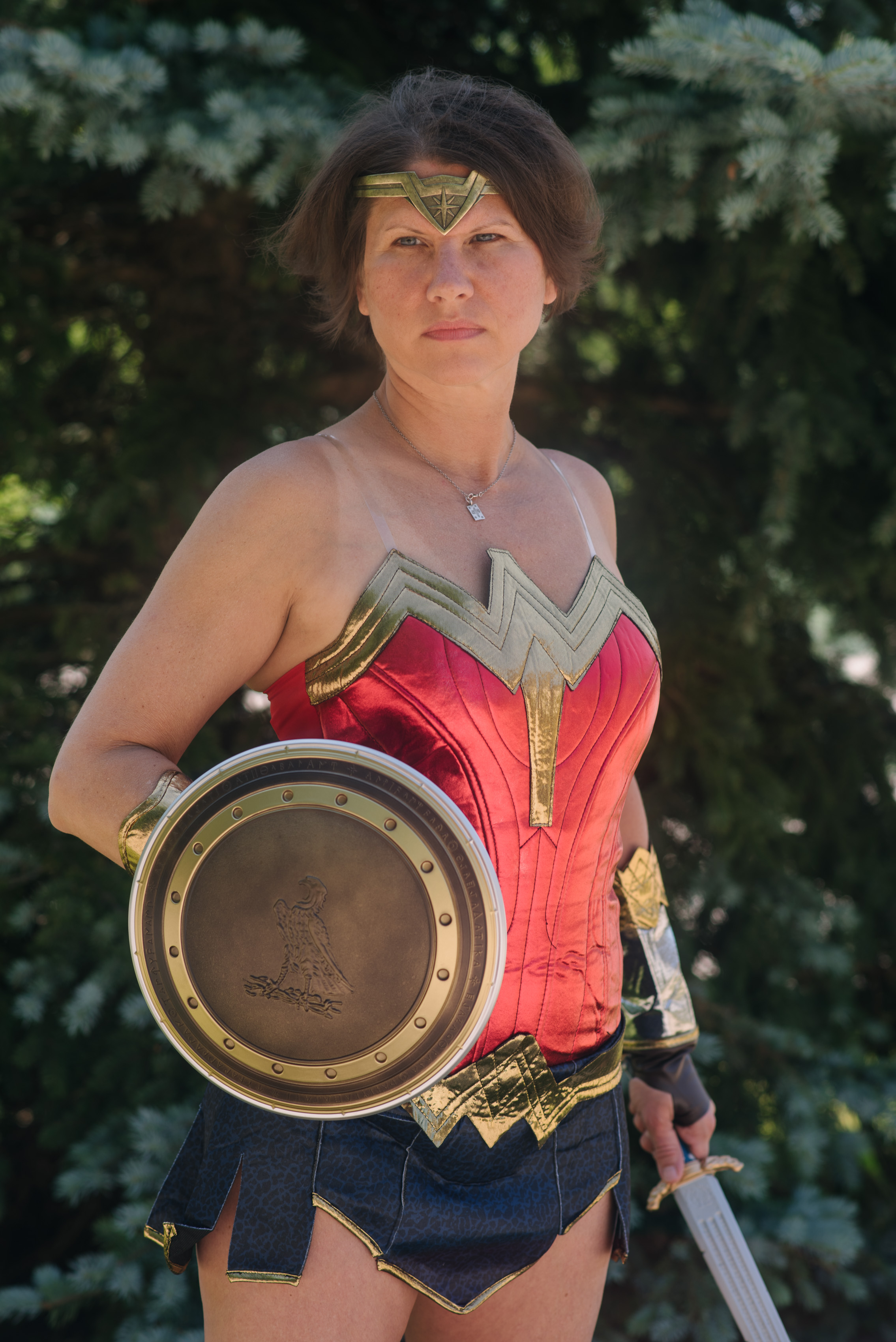 Trina Felber as Wonder Woman