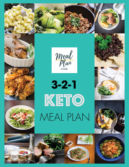 Keto Meal Plan Cover