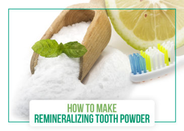 How to Make Remineralizing Tooth Powder