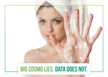 Big Cosmo lies; Data does not